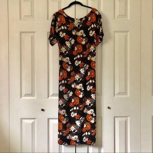 Vintage floral dress 🌿